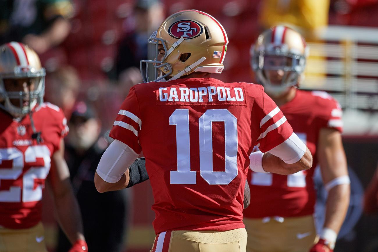super popular add3f 8bf6a San Francisco 49ers Giving Jimmy Garoppolo Time | SI.com