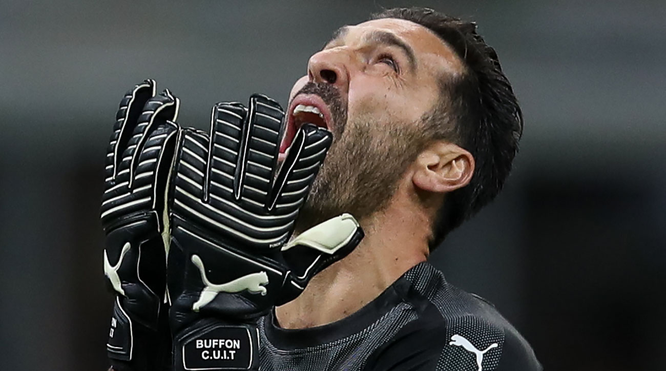 Buffon retires from Italy duty after World Cup failure
