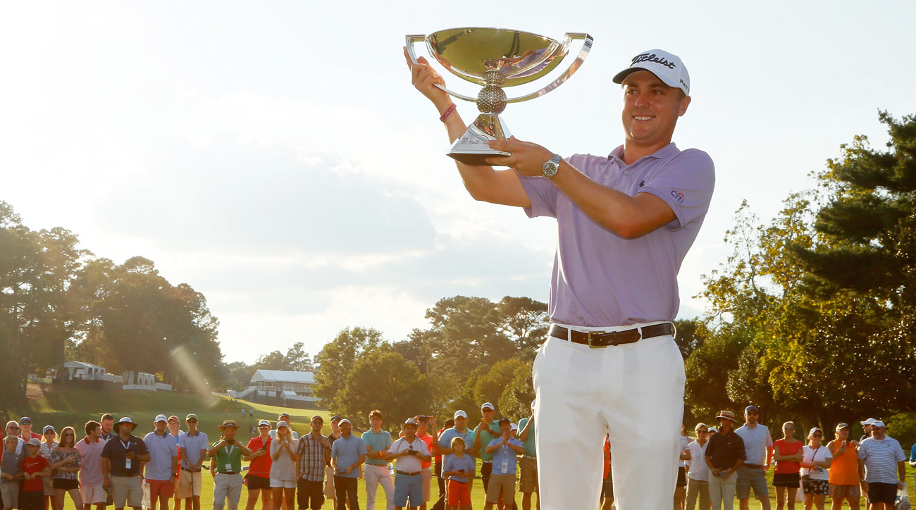 Justin Thomas led pro golfers with $9,921,560 in winnings in 2017. Not included in that sum is the $10 million bonus he received for winning the FedEx Cup.