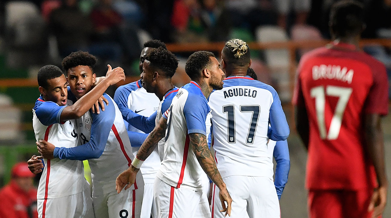 McKennie Makes His Mark as USA Closes 2017 With Draw at Portugal