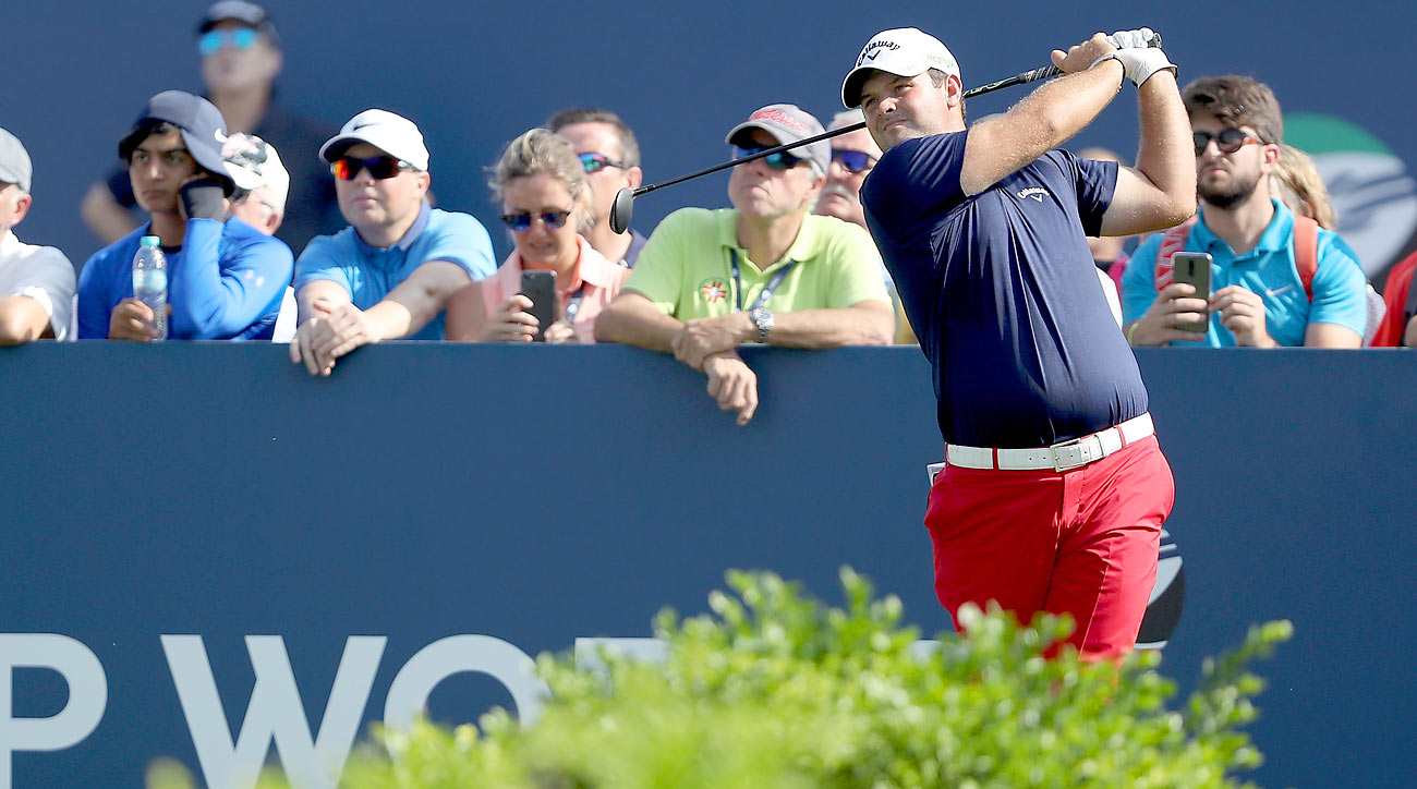 Patrick Reed birdied three of his final four holes Thursday in Dubai.