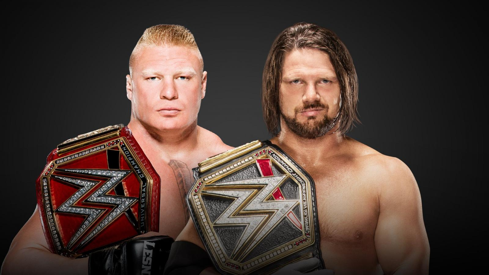 WWE Survivor Series How AJ Styles Vs Brock Lesnar Got Booked