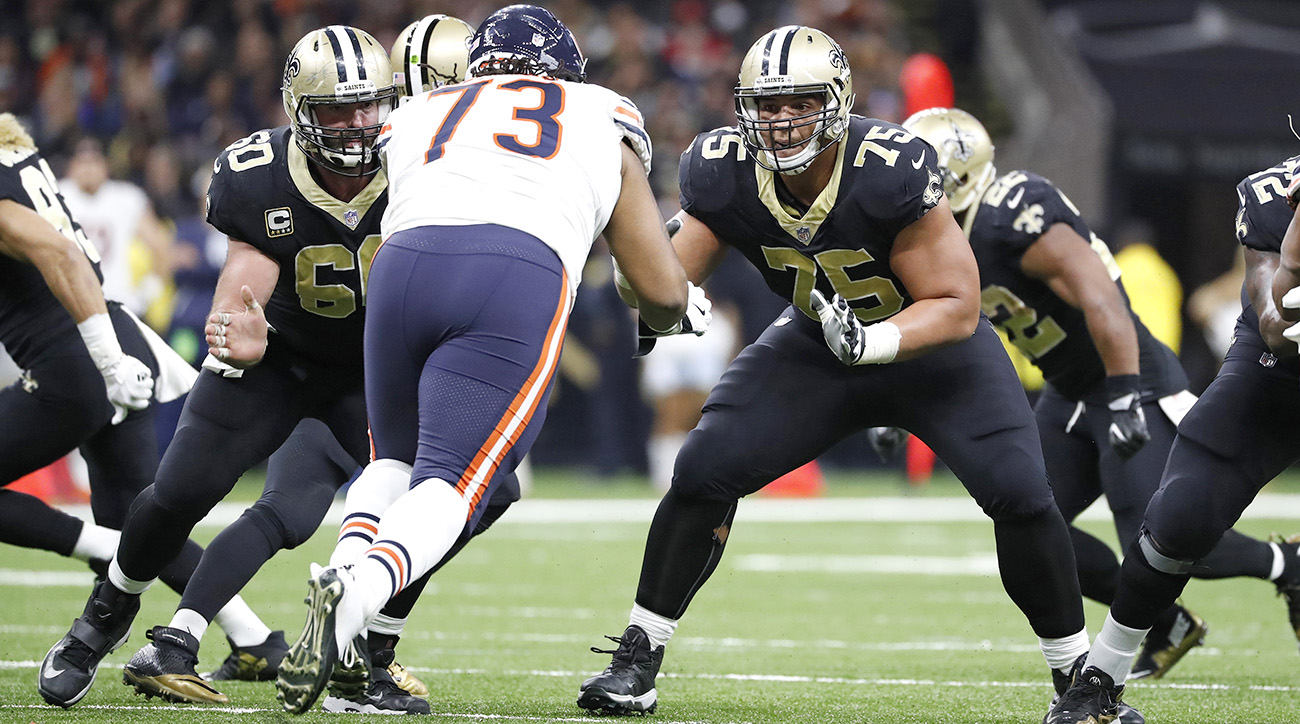 The play of Max Unger (left), Andrus Peat and the offensive line have created a new identity for the Saints.