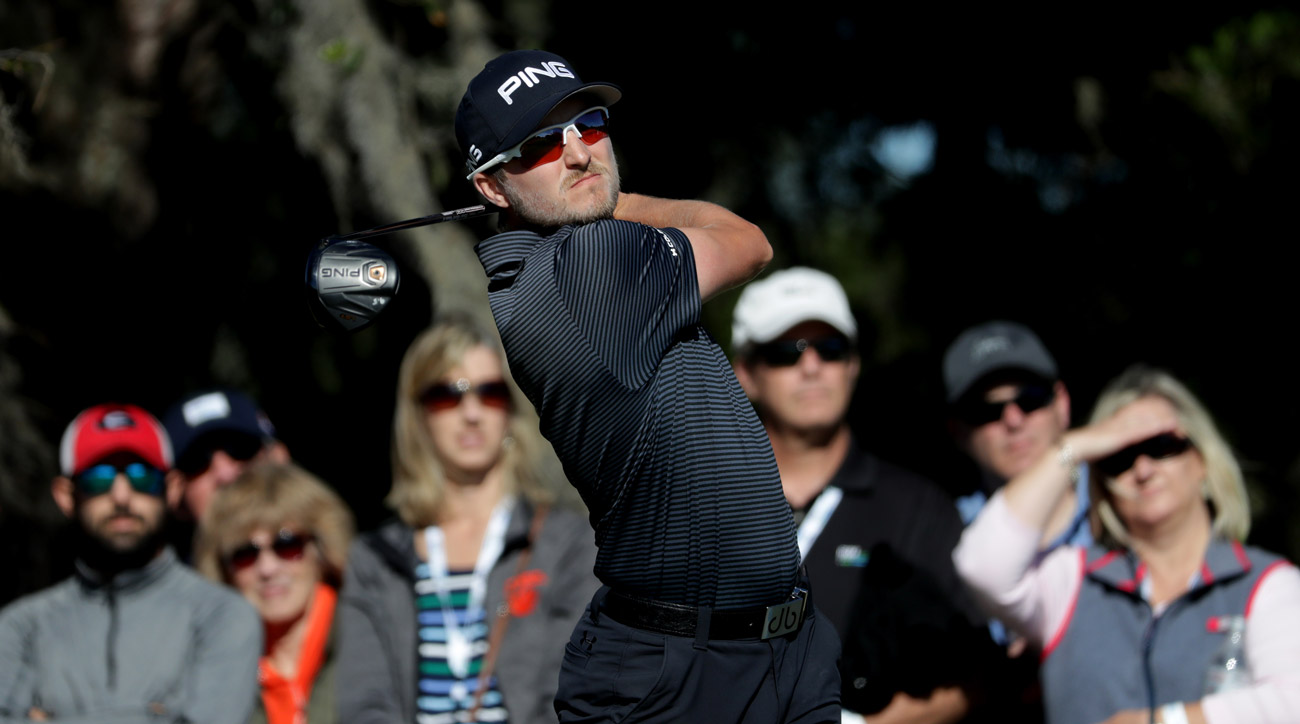 Austin Cook during the final round of the RSM Classic at Sea Island Golf Club.