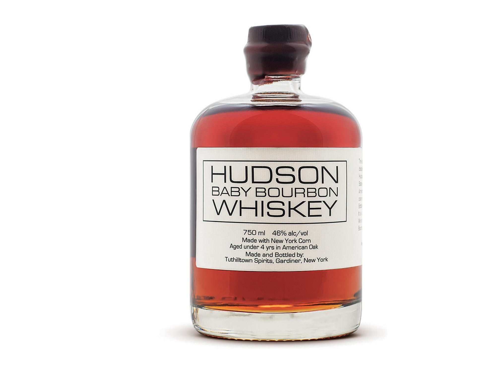 Hudson's Baby Bourbon Whiskey hits all the right notes. Smooth with a touch of sweetness and hints of vanilla and caramel, make sure your loved ones have a bottle of this to reach for during the cold winter months.