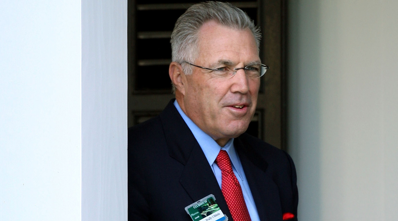 Wally Uihlein, chairman and CEO of Acushnet, at the 2008 Masters.