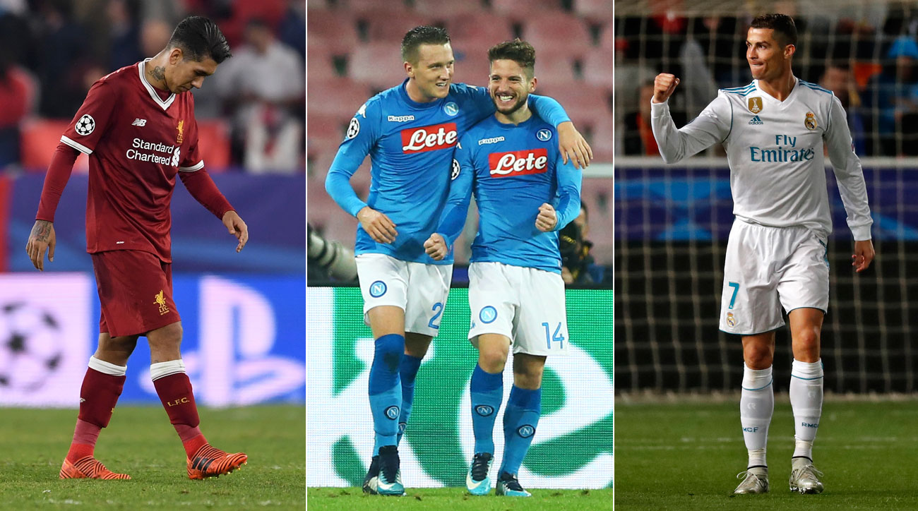Liverpool Blows a Champions League Chance, While Napoli Gives Itself One