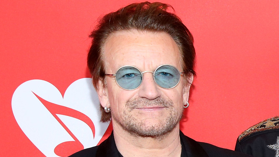 One place you'll never see celebrated Irish rocker Bono? A golf course.