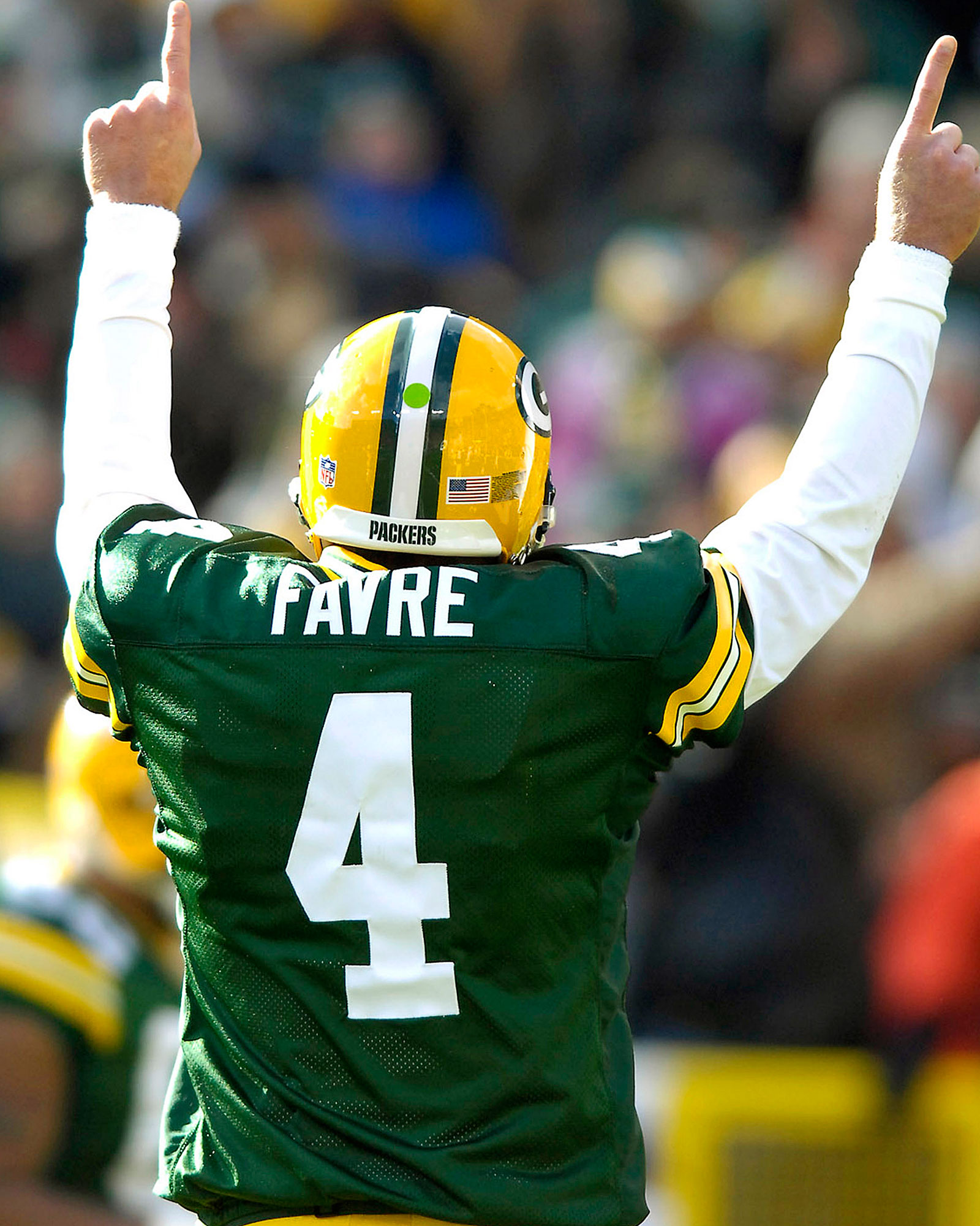 new style 00903 79f8b Brett Favre: Sportsman of the Year essay on Packers career ...