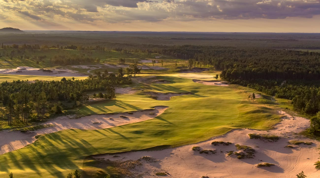 Sand Valley Golf Resort in Nekoosa, Wisconsin.