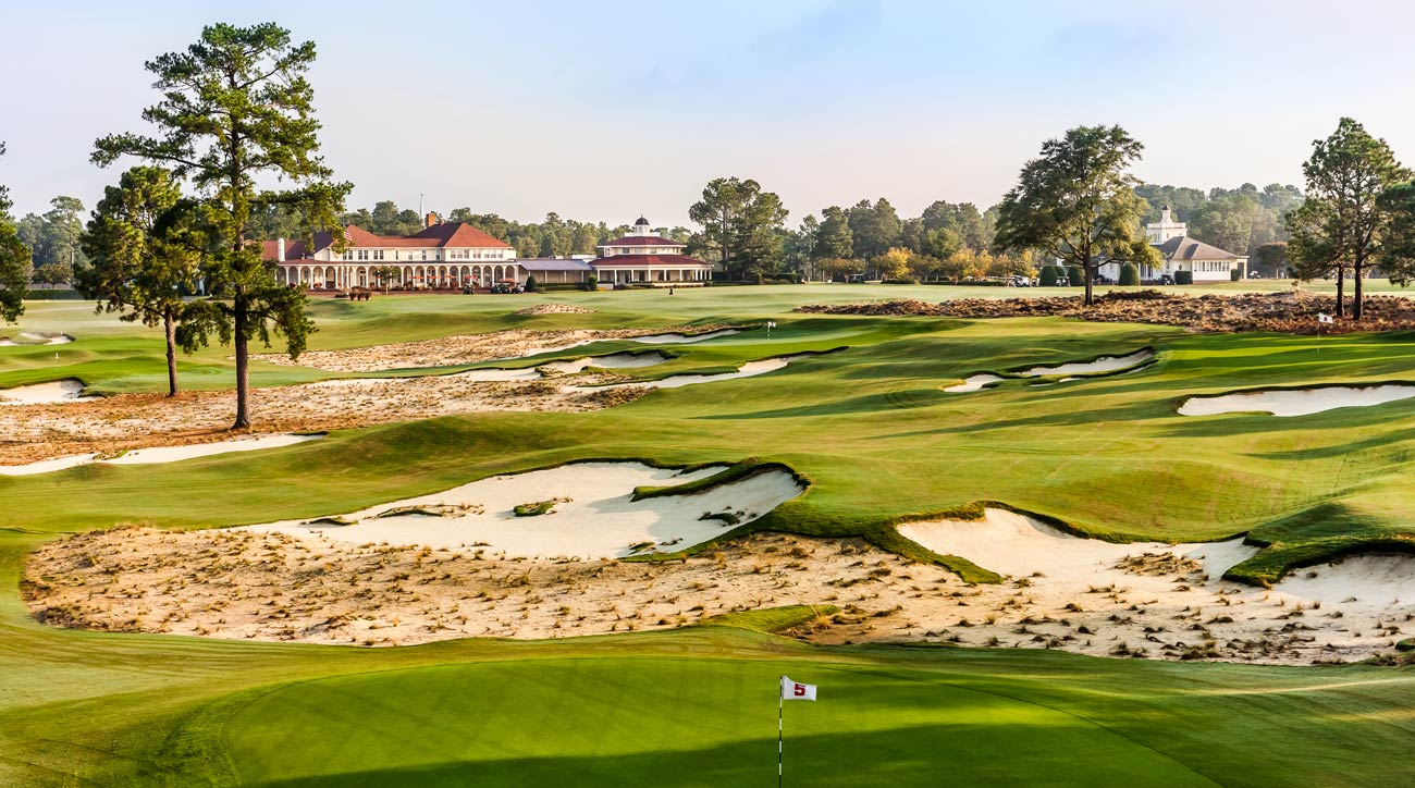 The Cradle at Pinehurst Resort in Pinehurst, N.C.