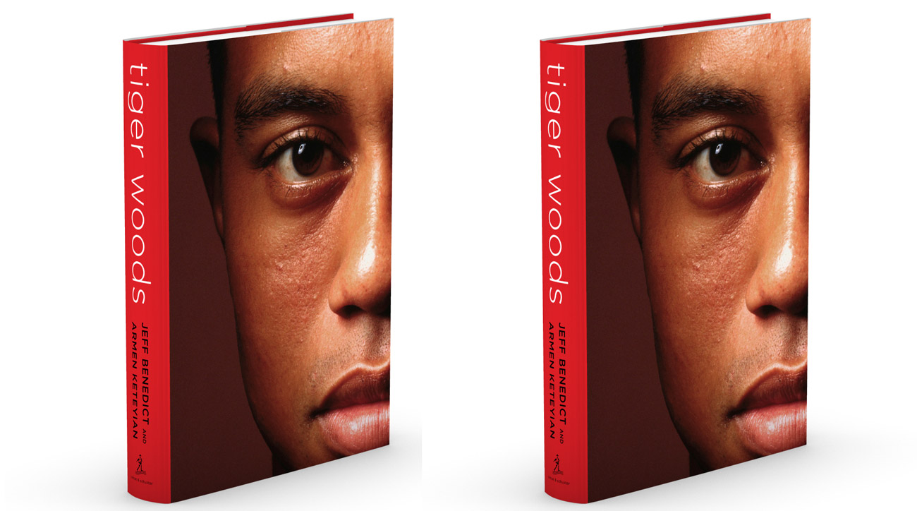 The cover of Jeff Benedict and Armen Keteyian's new book Tiger Woods.