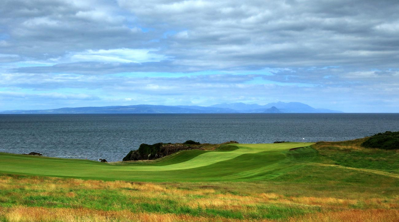Trump Turnberry King Robert the Bruce course in Turnberry, Scotland.