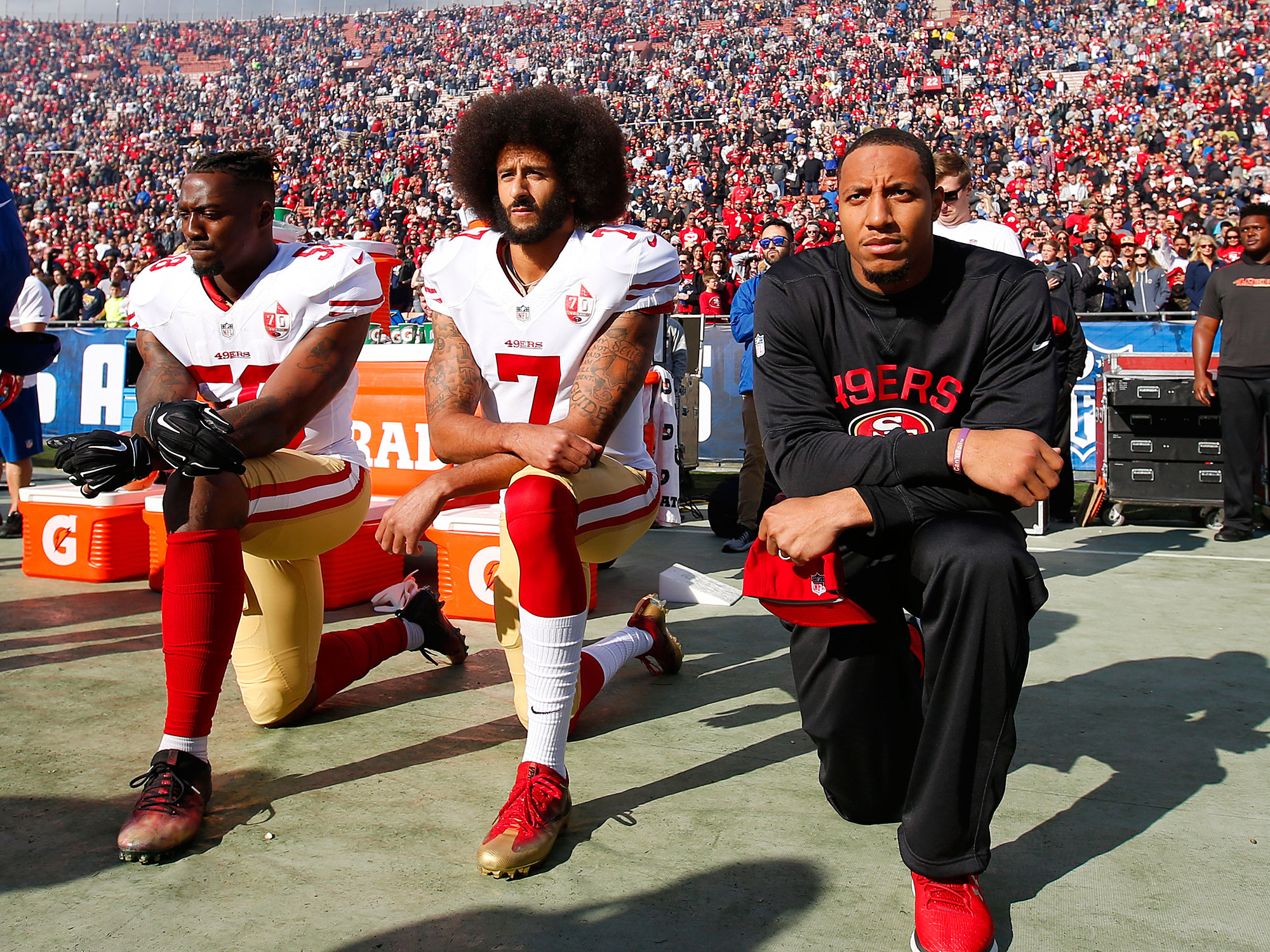 Colin Kaepernick accepts SI award, vows to continue activism