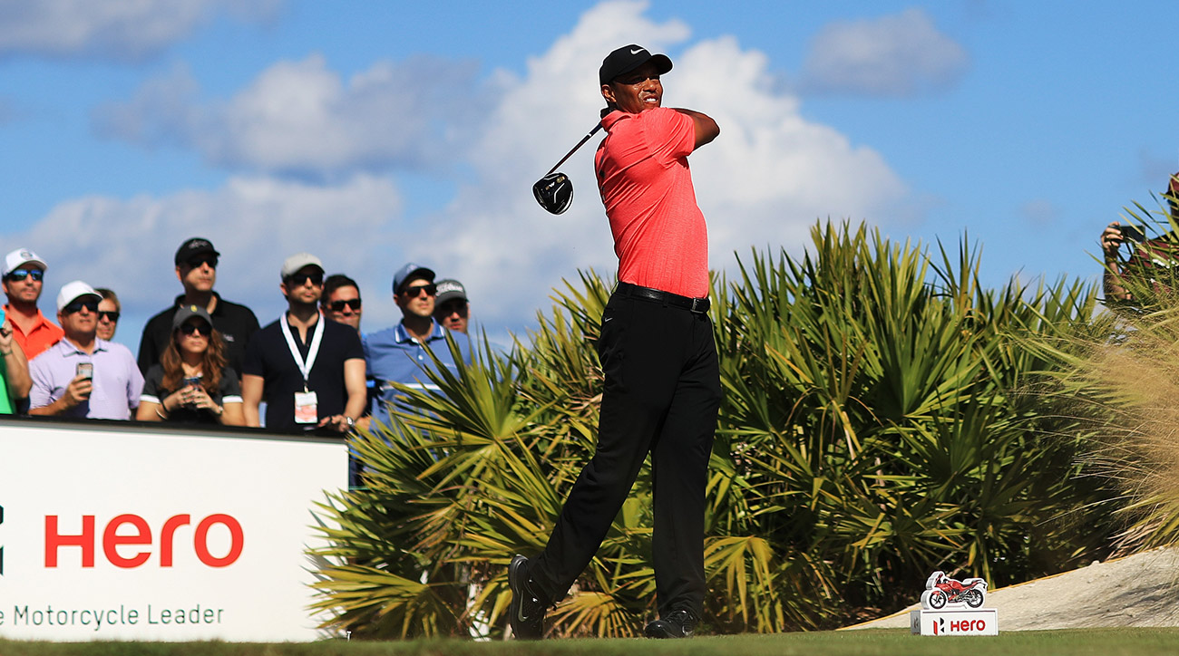 Tiger Woods put together a strong round in his final day of the Hero World Challenge.