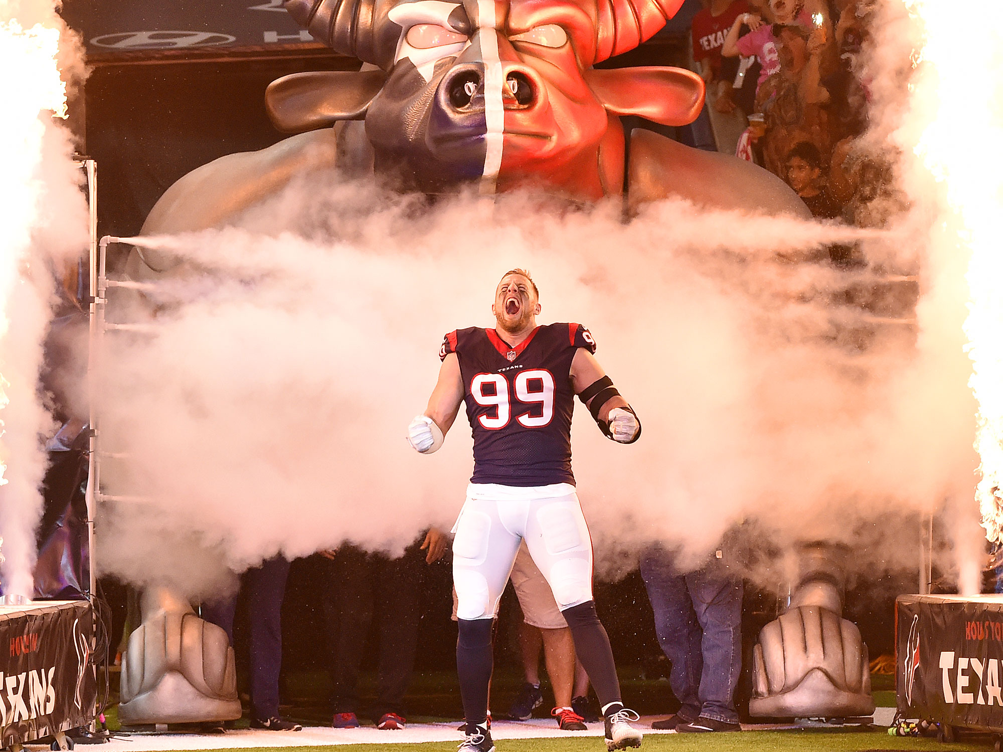 SI's 2017 Sportsperson of the Yearfounded the Justin J. Watt Foundation, a charity that provides after-school opportunities for children in different communities and aims to get them involved in athletics in a safe environment. With the Texans, Watt has frequently invited disabled and underprivileged children to games and practices. And on Aug. 26 of this year, the three-time NFL Defensive Player of the Year launched a fund on YouCaring.com to raise money for victims of Hurricane Harvey with an initial goal of $200,000. Watt closed the fundraiser after raising an astonishing $37,097,298, which is more than 185 times his initial goal.