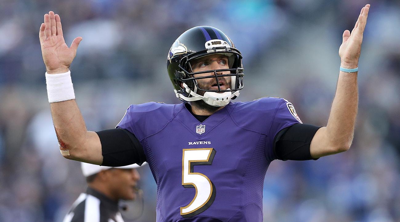 Joe Flacco and Ravens fense Breaks Out Against Lions