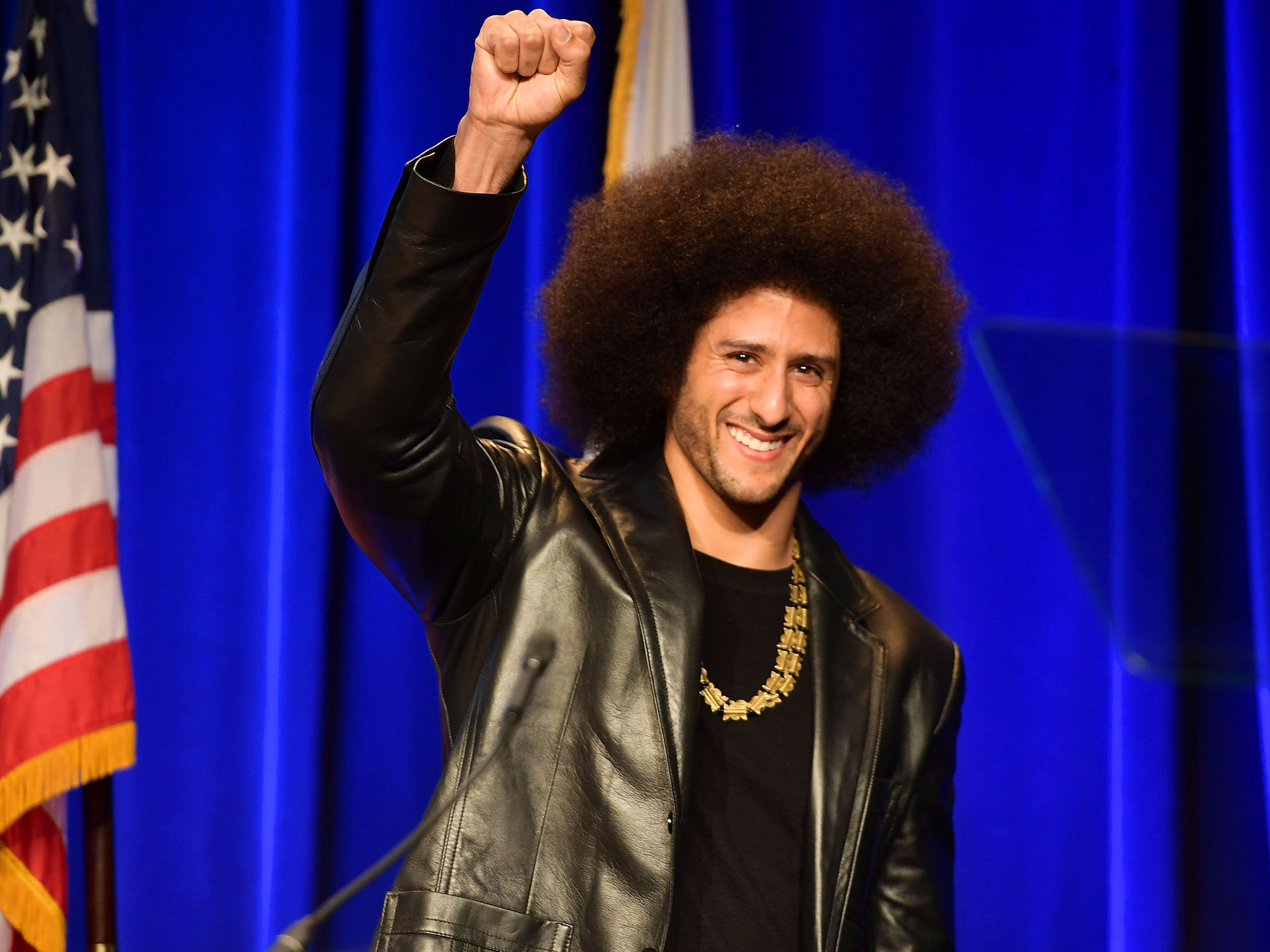 """The recipient of SI's 2017 Muhammad Ali Legacy Award and one of the first NFL players to protest the national anthem,Kaepernick has devoted both his energy and his money to the causes he cares about. In '16, took the Million Dollar Pledge, a promise to donate $1 million to organizations dedicated to serving """"oppressed"""" people and communities. He's continued to donate in increments to different organizations, ranging from Home2Heart, which helps provide beds and furniture to single mothers in Atlanta, to Coalition for the Homeless in New York. His website indicates that he has donated $900K of that $1M pledge so ar."""