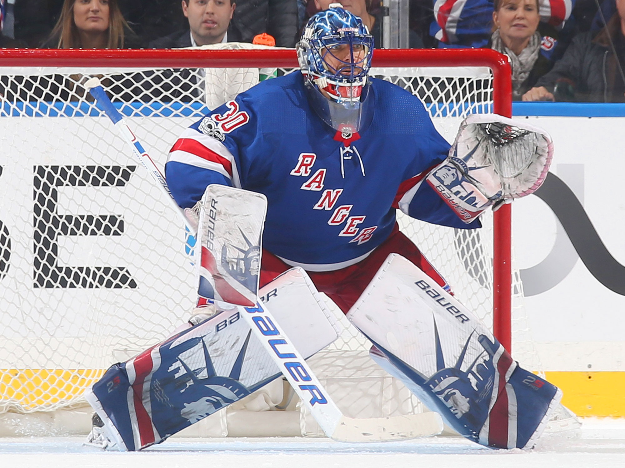 """The Rangers' goalie started his own foundation, an international grant-making organization with the mission statement to """"create positive change in the lives of children and adults throughout the world through education and health services."""" He has partnered with the New York Presbyterian Children's Hospitals, the Ronald McDonald House in Sweden and Together for Better, an organization to help children in poverty in the Dominican Republic."""
