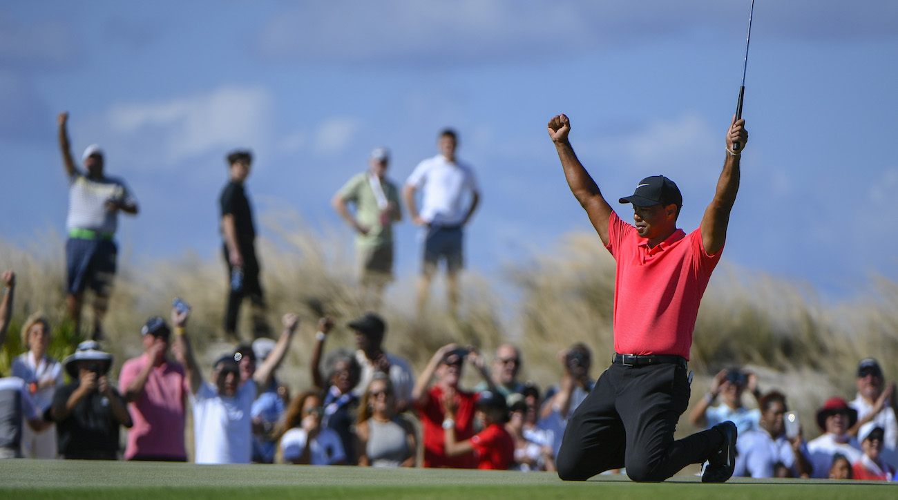 Woods's weekend top 10 jumped him all the way up to No. 668 in the world, tied with Canadian tour player Rico Hoey.
