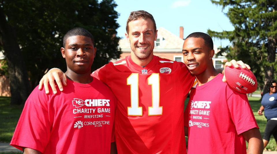 Chiefs quarterback Alex Smith.