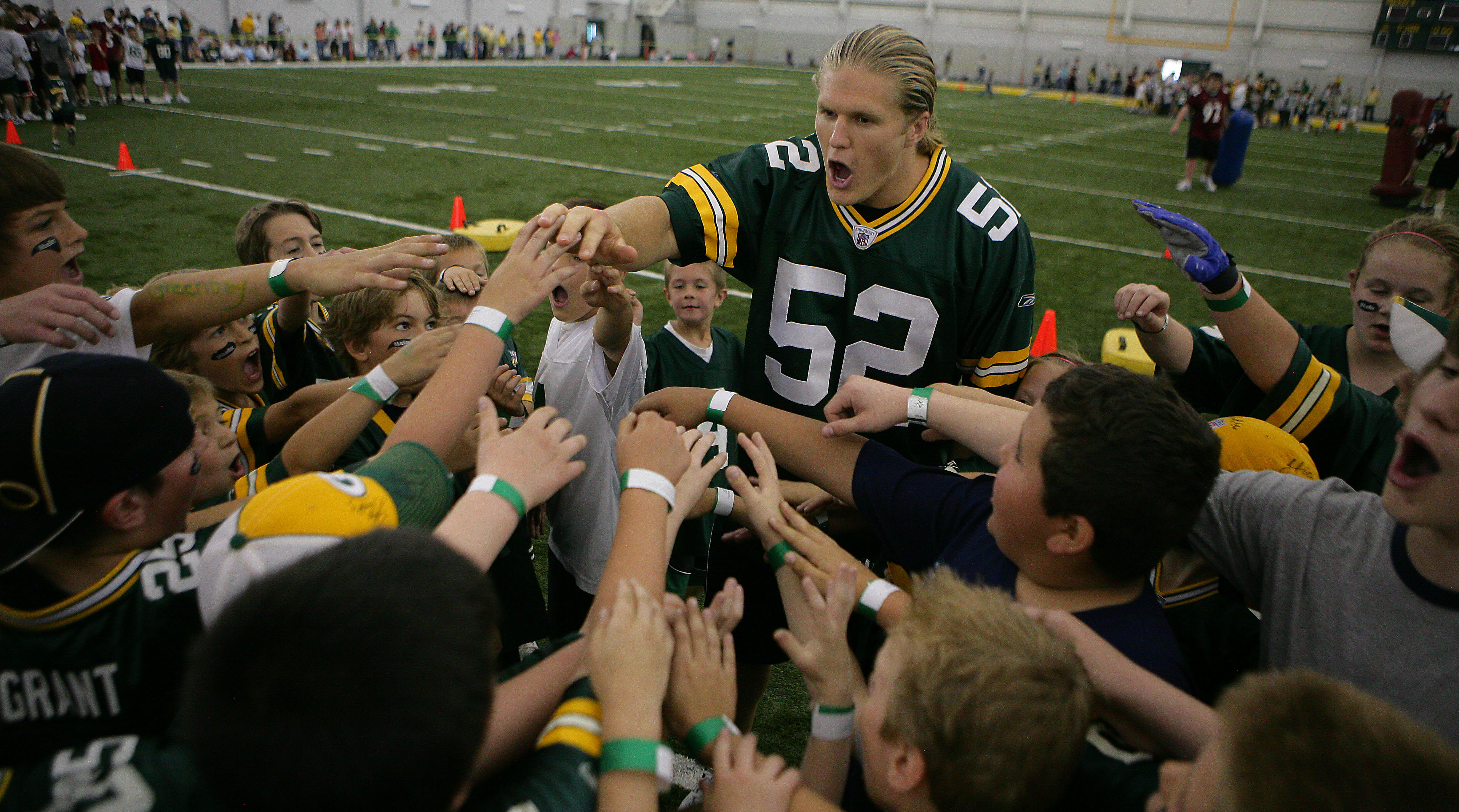Packers linebacker Clay Matthews.