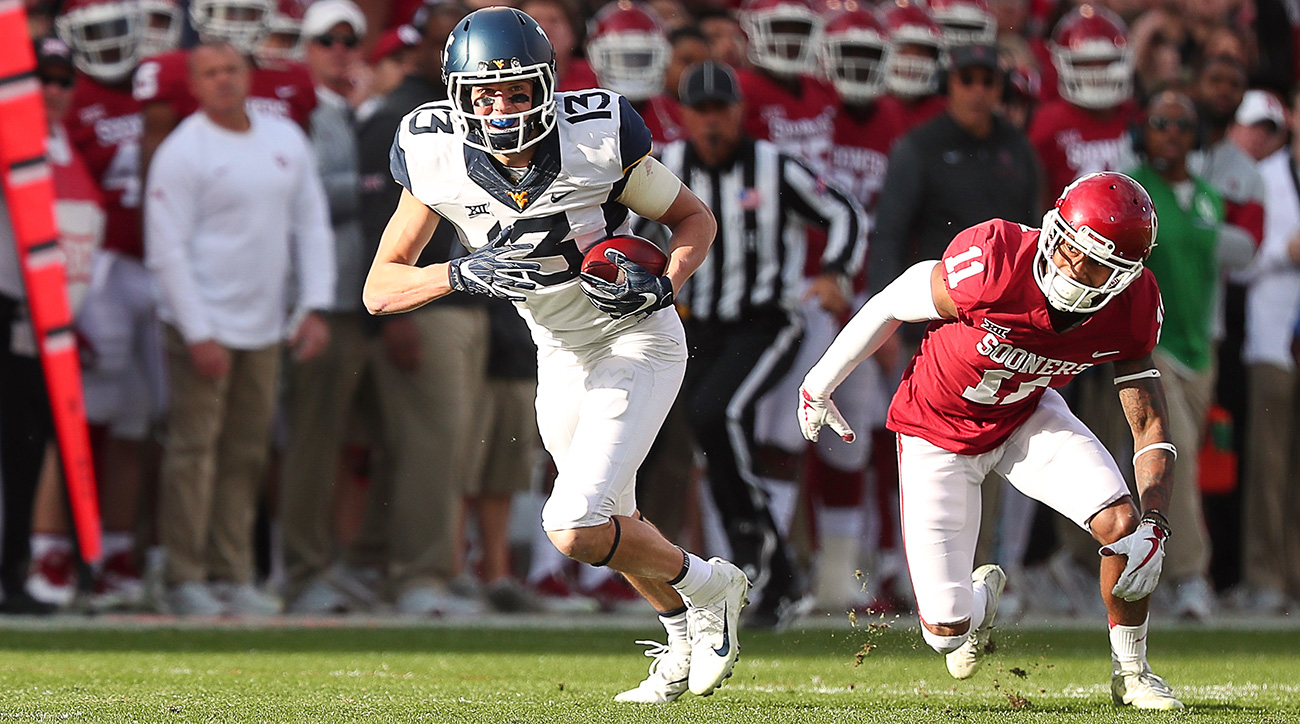 If Sills caught a pass, it was likely for six: A stunning 18 of his 60 receptions in 2017 were touchdowns, and he turned in seven multi-score games for the high-flying Mountaineers.