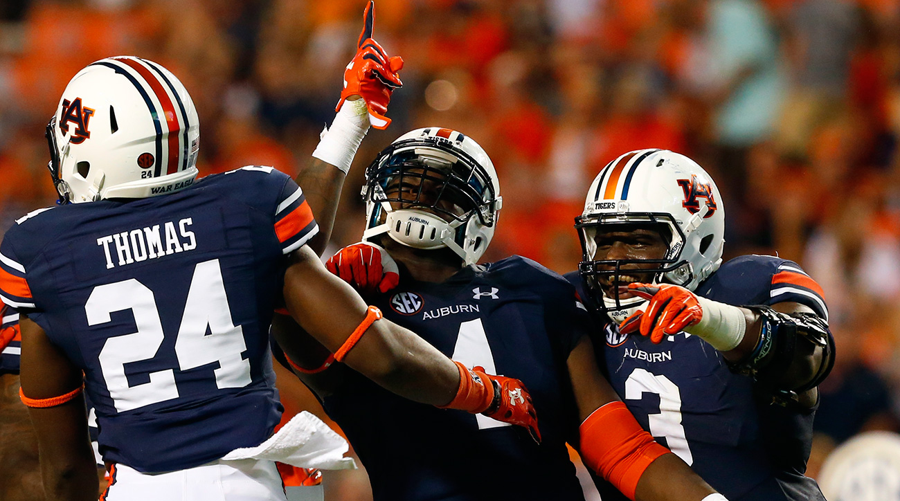 Auburn's front seven helped elevate the Tigers from also-rans at midseason to SEC title game participants, and Holland led the team by wide margins in sacks (9.0), tackles for loss (12.0) and quarterback hurries (22).