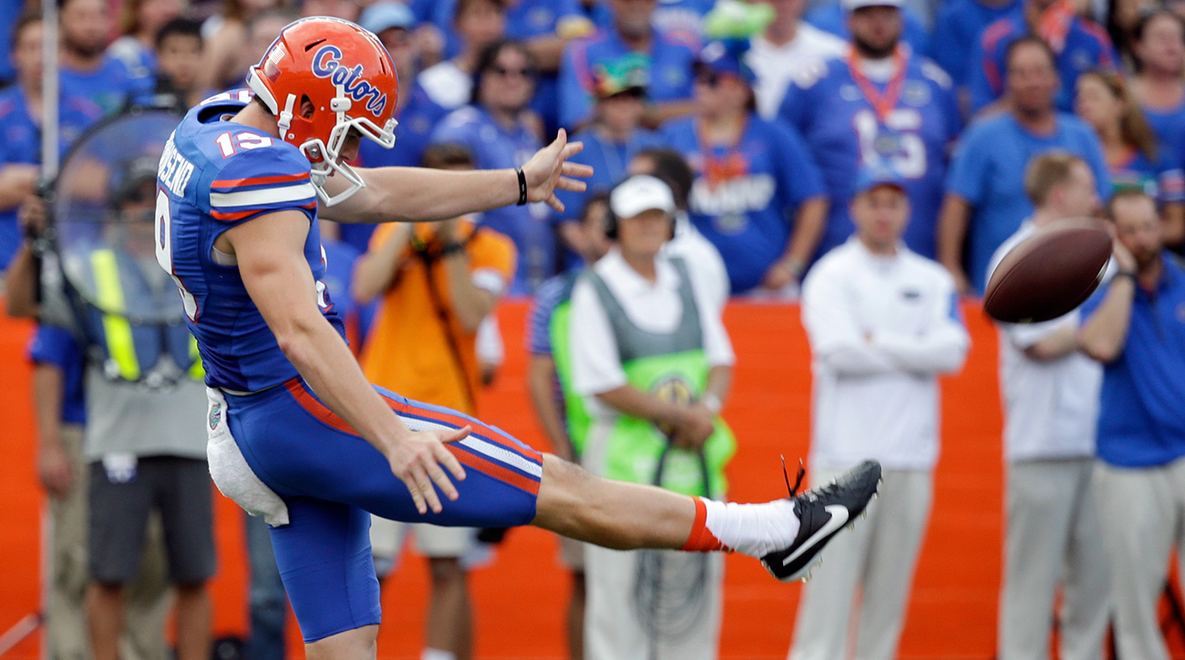 Townsend had a lot of work to do as the Gators' offense sputtered from the opening games of the season, and he delivered with the second-best average in the country at 47.5 yards per punt.
