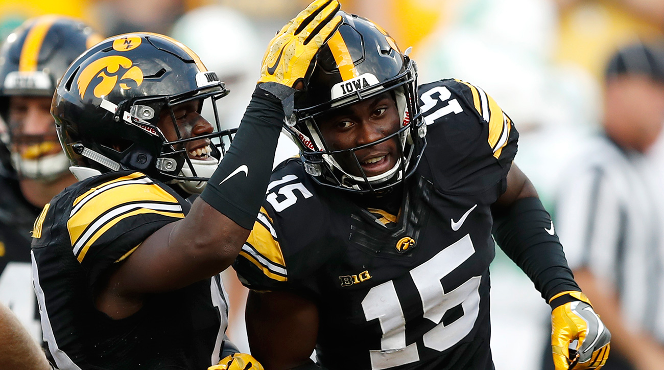 Jackson tied for the national lead in interceptions with seven, but his two against Ohio State—including a one-handed snag in the red zone—was the defining performance of the season's most memorable upset.