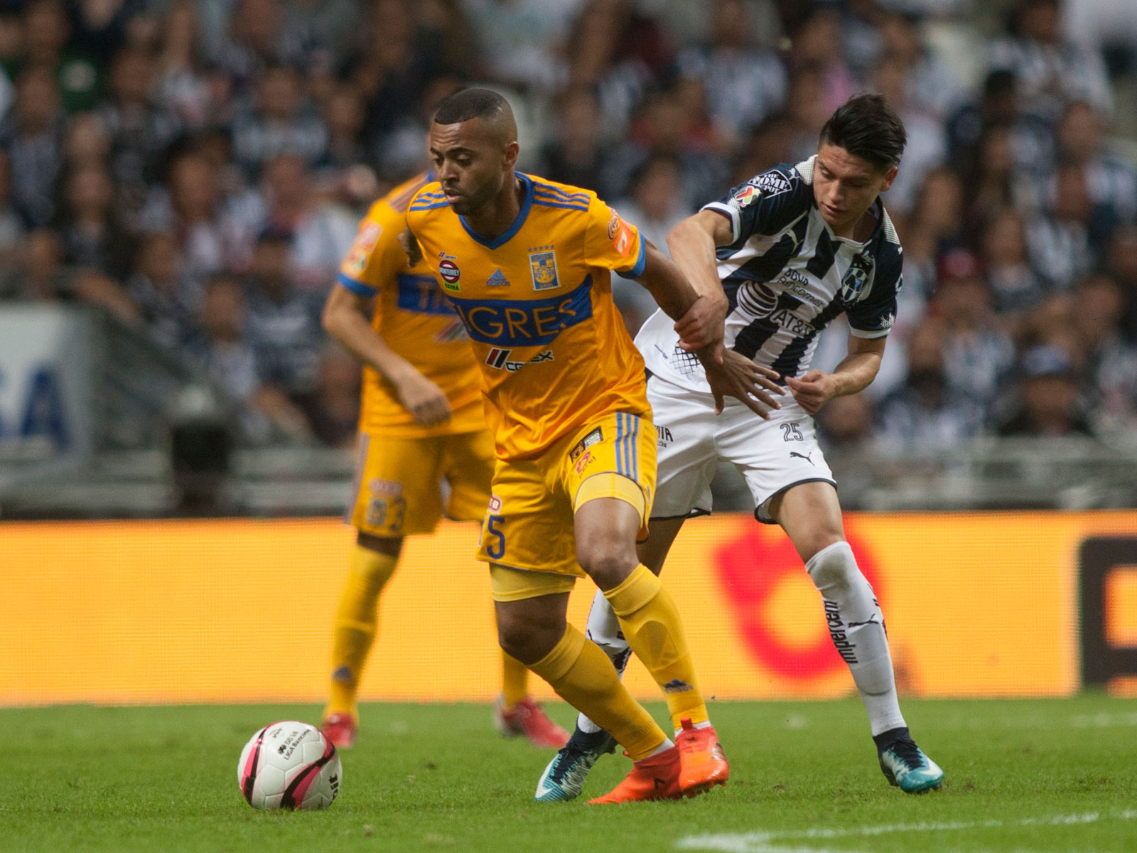 Monterrey's Jonathan Gonzalez is hoping to be crowned a Liga MX champion