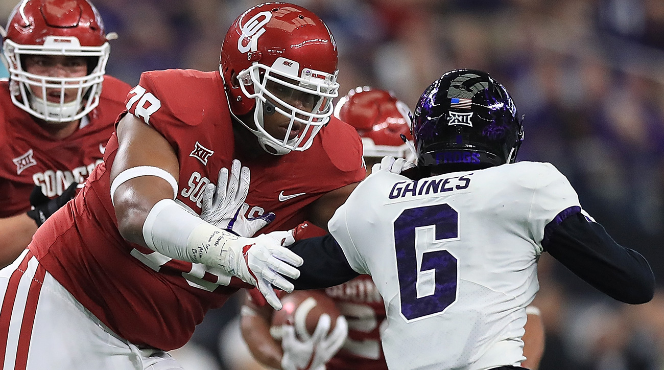 Brown was a wire-to-wire SI All-America pick, making the first team in the preseason and at midseason. He's a big part of the reason Mayfield was so upset Oklahoma wasn't a finalist for the Joe Moore Award, given to the nation's best O-line.