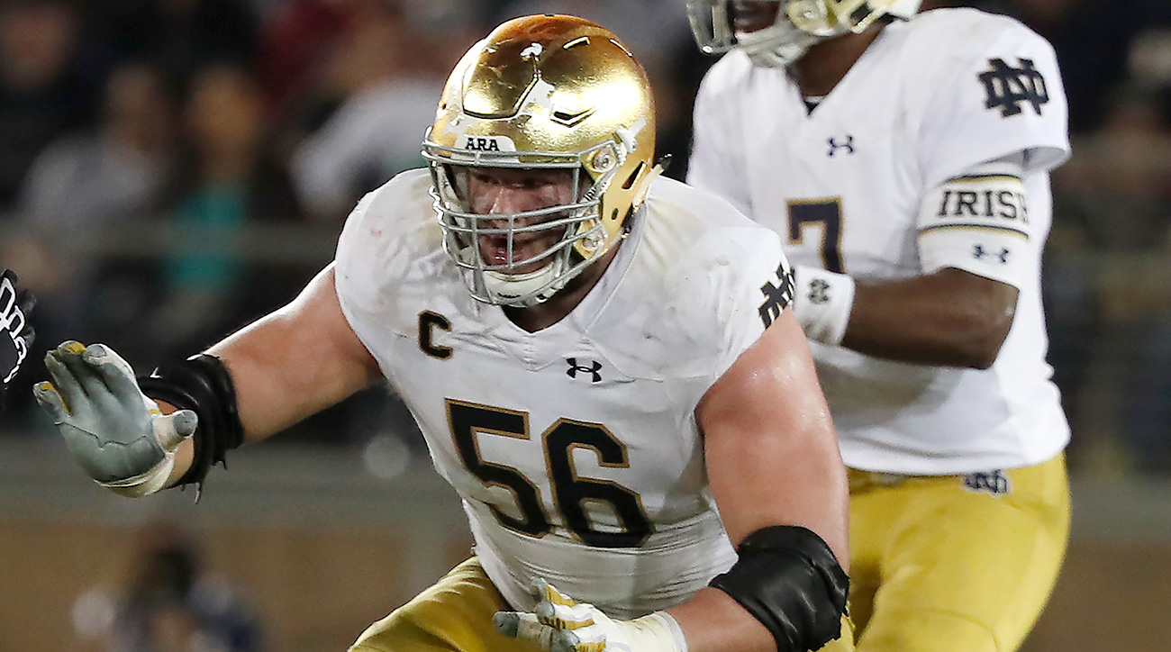 Nelson and McGlinchey helped pave the way for running back Josh Adams to construct a dark-horse Heisman campaign as the Irish worked their way into the national title race.