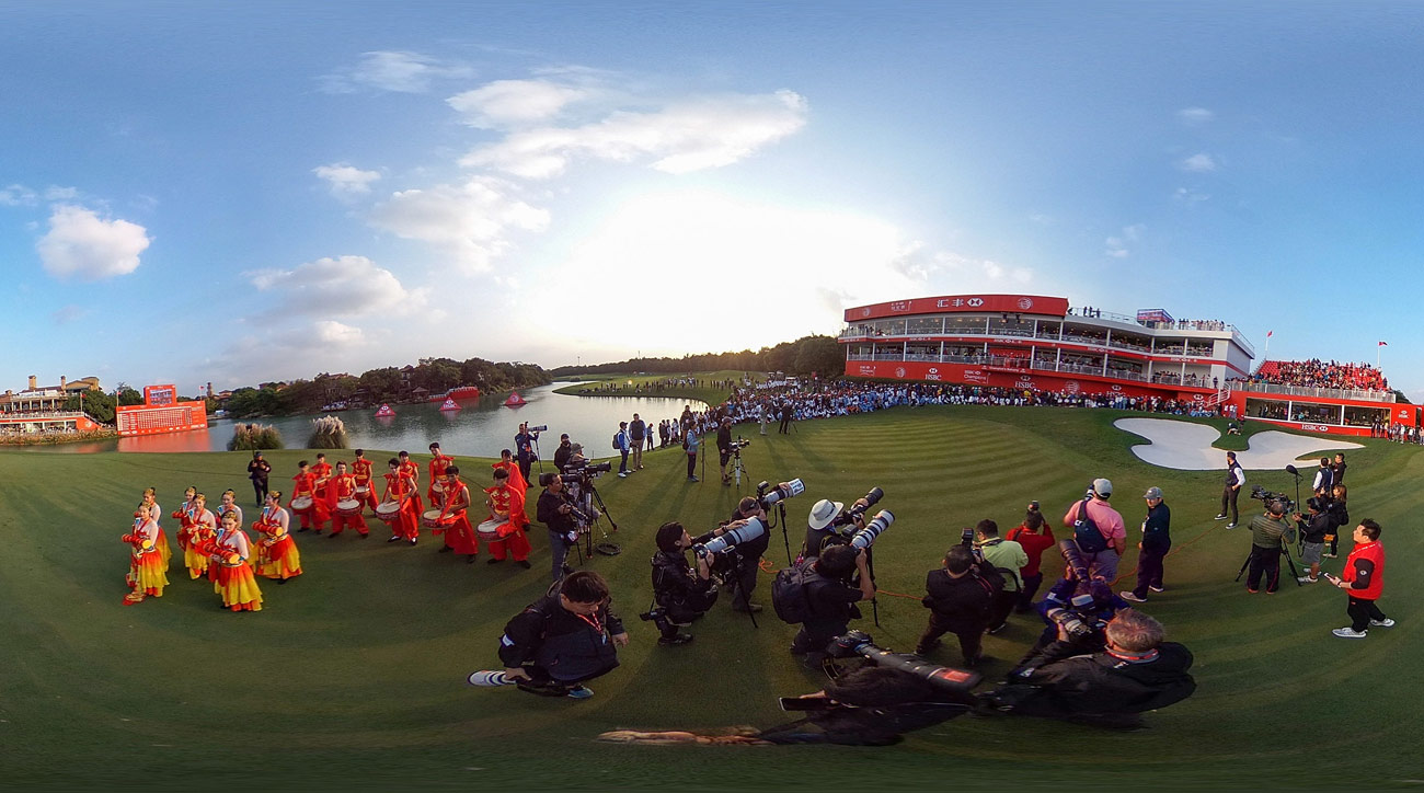 PGA Tour pros compete in the WGC-HSBC Champions in China each year at Sheshan International Golf Club