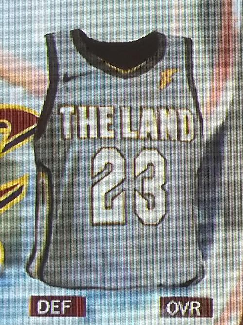 Cavaliers City jersey leak