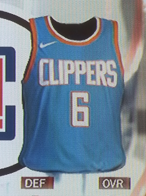 Clippers City jersey leak