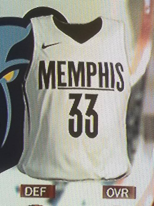 Grizzlies City jersey leak