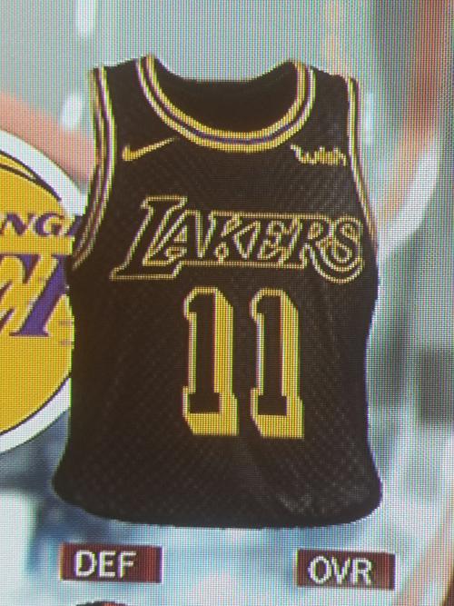 Lakers City jersey leak