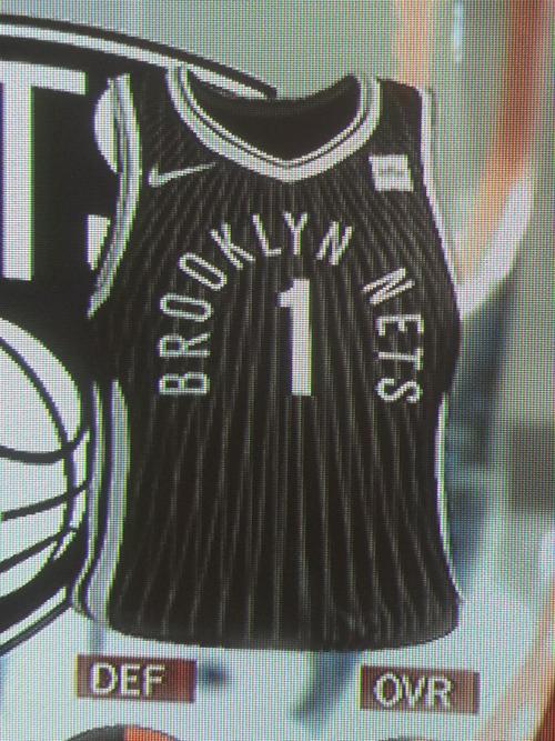 Nets City jersey leak