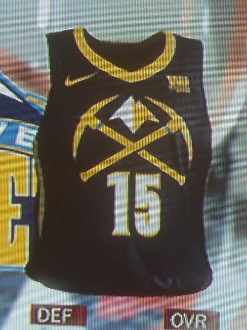 Nuggets City jersey leak