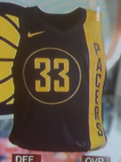 Pacers City jersey leak