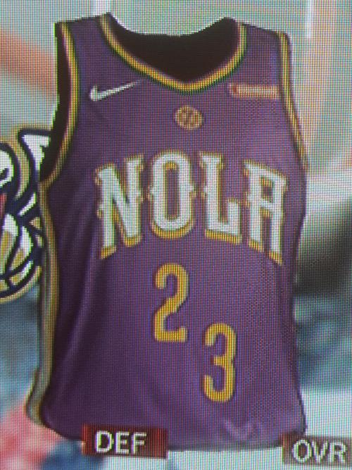 Pelicans City jersey leak
