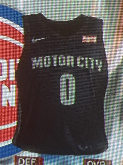Pistons City jersey leak
