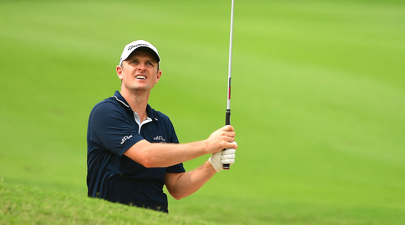 Justin Rose rang up 10 birdies in his first round at the Indonesian Masters.