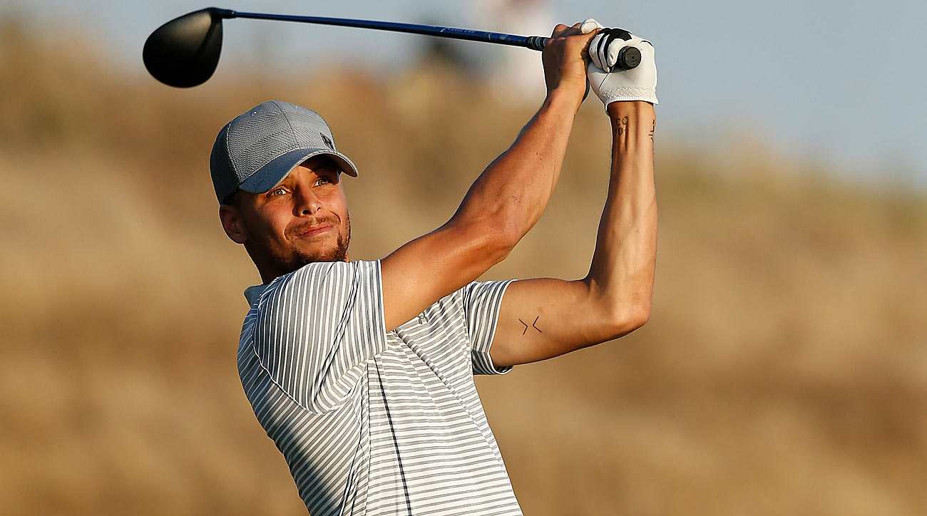Stephen Curry shot 74-74 and missed the cut in his pro golf debut, but his performance was still impressive.