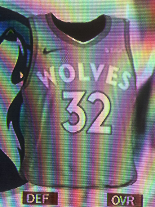 Timberwolves City jersey leak