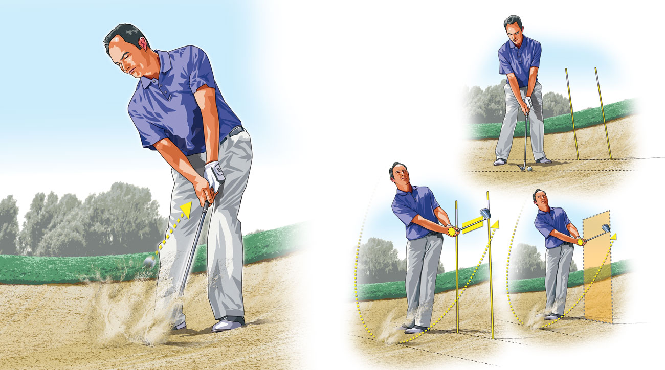 Simple drill for a dominant bunker game.