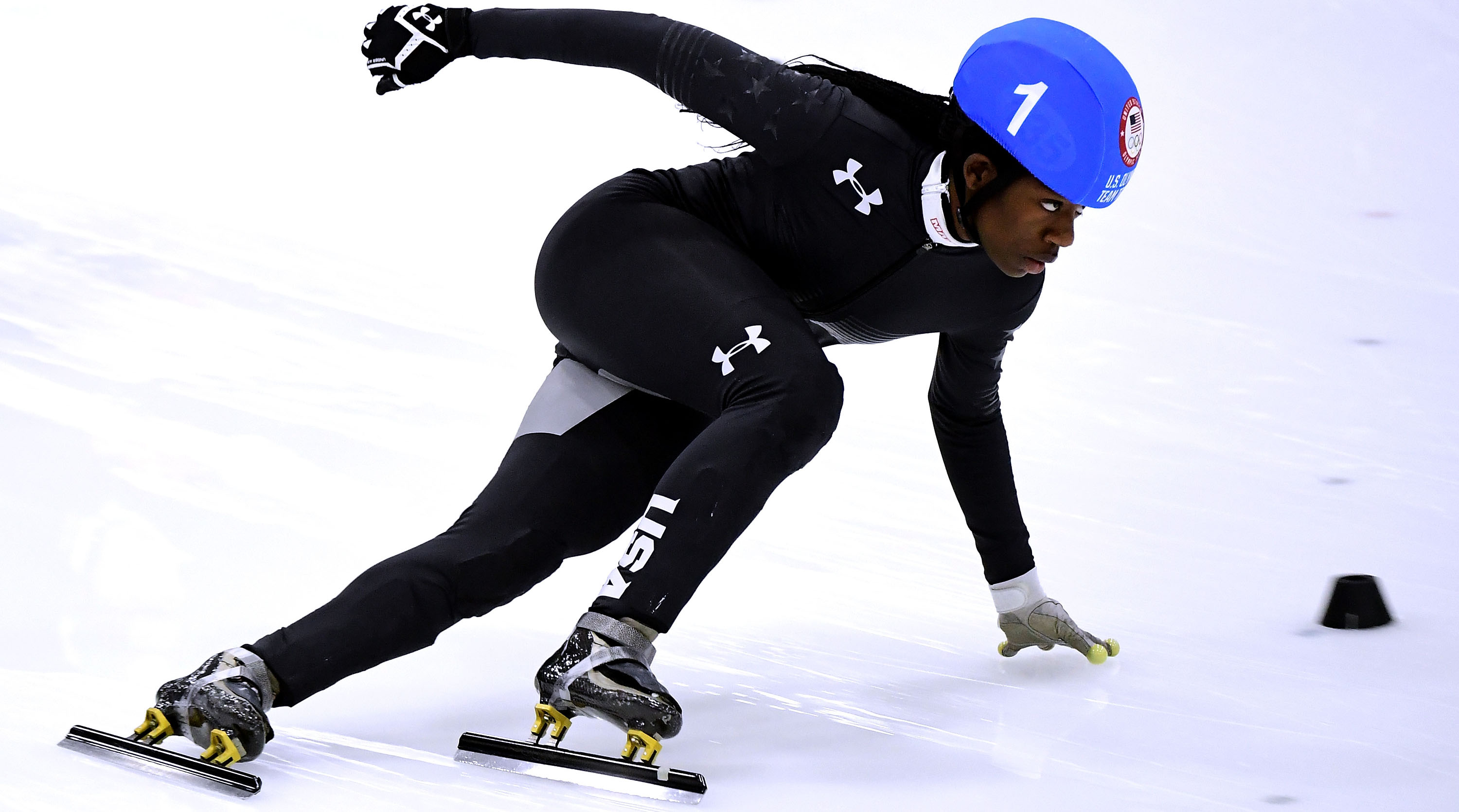 Maame Biney first black woman qualify US Olympic ...