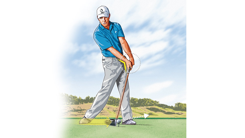 The pros know it, and you should too: It's absolutely imperative to keep your wrist hinge intact and your hands ahead of the clubhead through impact.