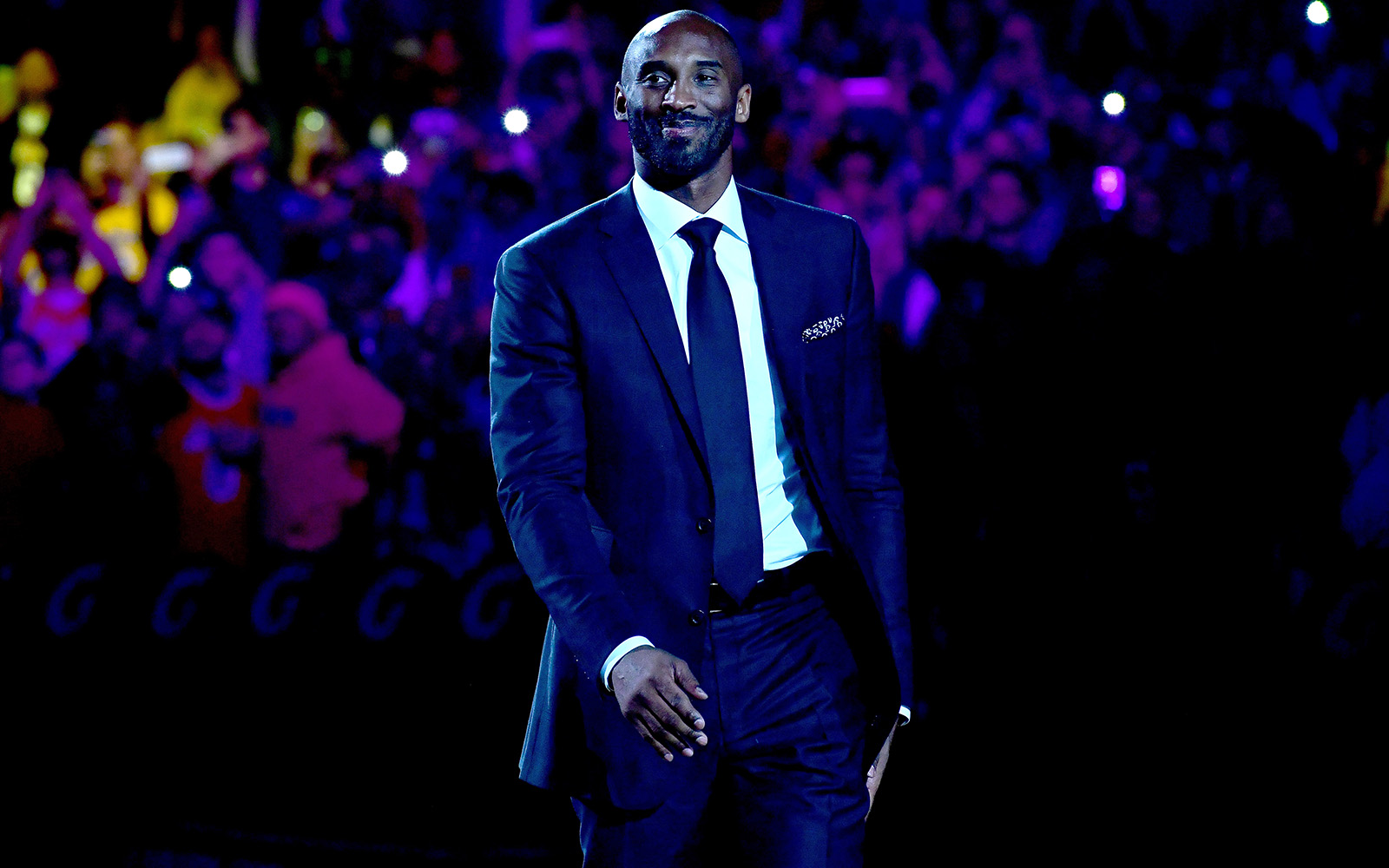 Warriors to be 'out there' for Kobe ceremony